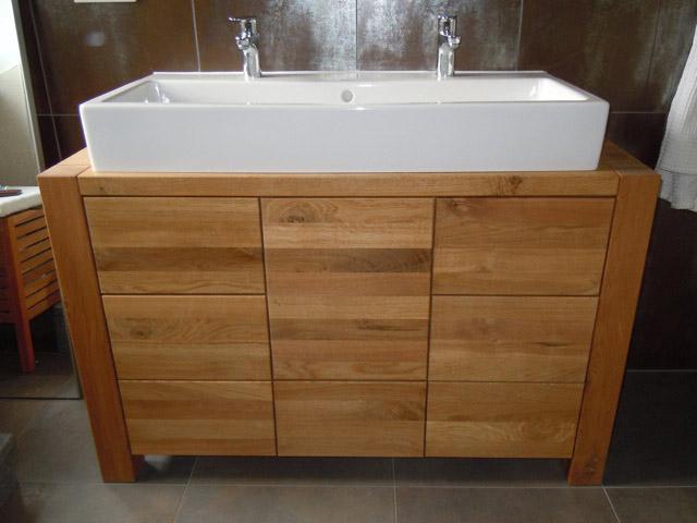 bad waschtisch simple waschtisch konsole massiv aus holz. Black Bedroom Furniture Sets. Home Design Ideas